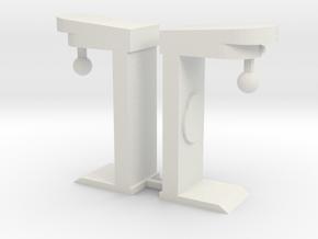 Boxautomaten - 1:87 (H0 scale) in White Natural Versatile Plastic