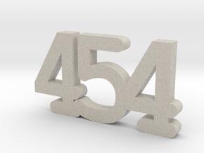 "smart car keychain ""454"" (1. generation ForFour) in Natural Sandstone"