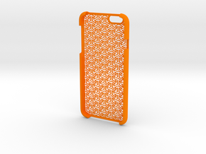 IPhone6 Open Style Arrows in Orange Strong & Flexible Polished