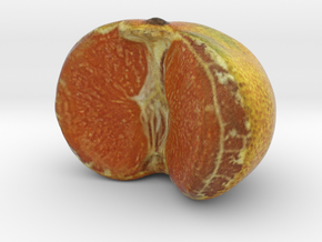 The Tangerine-Half in Full Color Sandstone