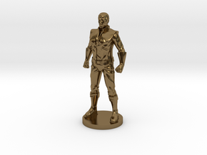 Spike homage Space Man 2inch Transformers Mini-fig in Polished Bronze