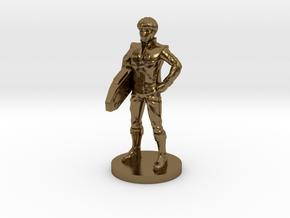 Daniel homage Space Boy 1.6inch Transformers Mini- in Polished Bronze