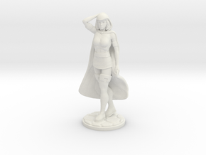 Sheila of D&D 1.77inch Figure in White Natural Versatile Plastic