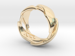 US12 Ring III in 14K Yellow Gold