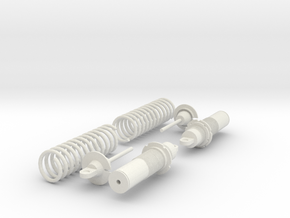 Koni Coilover Shock Assembly - .65 in. in White Strong & Flexible