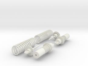 Koni Coilover Shock Assembly - .65 in. in White Natural Versatile Plastic
