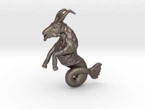 Capricorn Pendant - 2.6cm in Stainless Steel