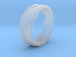 GD Ring (US Size - 7 1/4) in Smooth Fine Detail Plastic