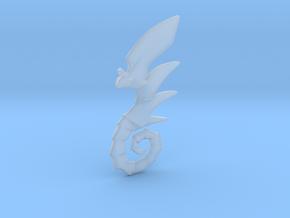 Dragoner Pendant in Smooth Fine Detail Plastic