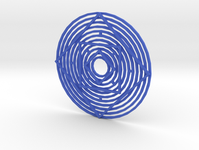 Illusion3 in Blue Processed Versatile Plastic
