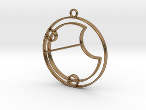 Eve - Necklace in Natural Brass