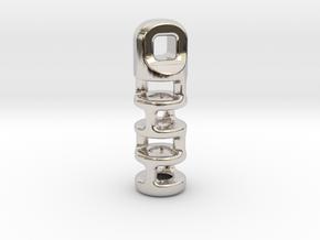 Tritium Lantern 3A (2x12mm Vial) in Platinum