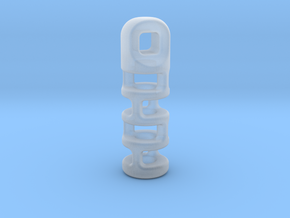 Tritium Lantern 3A (2x12mm Vial) in Smooth Fine Detail Plastic