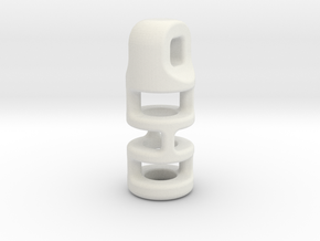 Tritium Lantern 3B (2.5x10mm Vial) in White Natural Versatile Plastic