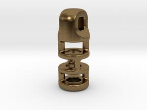 Tritium Lantern 3B (2.5x10mm Vial) in Natural Bronze
