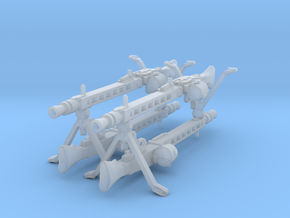 MG-42 enlarged with drum, 28mm (x4) in Frosted Ultra Detail