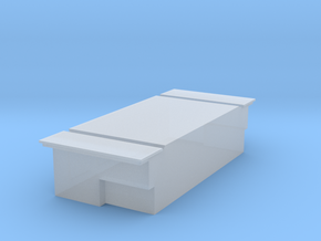 Dog Box in Smooth Fine Detail Plastic