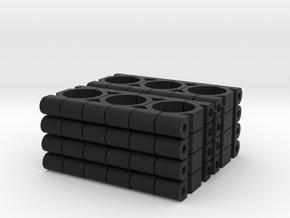 TKSH-1600-SET in Black Natural Versatile Plastic