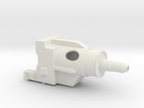 10-16-14 DLT-20A SCOPE SHROUD in White Natural Versatile Plastic