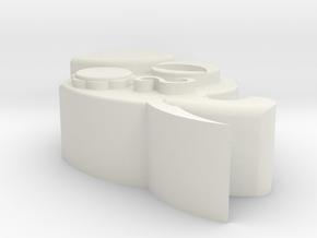 Eg7unqjd1v0dev9miqbdb23aq6 54930057.stl in White Natural Versatile Plastic