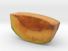 The Melon-Quarter-mini in Glossy Full Color Sandstone