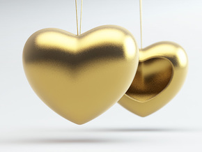 Heart Simple in 14K Yellow Gold