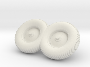 09-Folded LRV - Right Wheels in White Natural Versatile Plastic