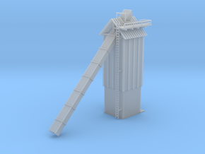 Wood Chip Loader Building in Smooth Fine Detail Plastic