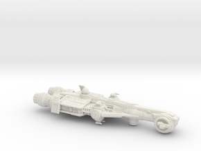 Corvan Gunship 1-270 in White Strong & Flexible