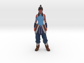 Korra in Full Color Sandstone