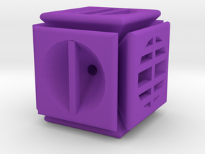 Dice13 in Purple Processed Versatile Plastic