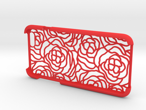 IPhone6 Open Style Rose in Red Processed Versatile Plastic