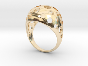 01-1 in 14K Yellow Gold