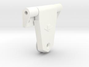 Raamscharnier Constructam Type 2 in White Processed Versatile Plastic