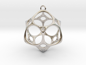 Christmas Bauble No.2 in Platinum