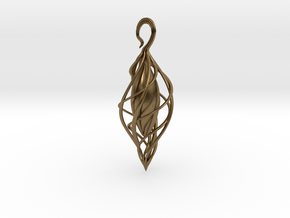 Spiral Seed 2 in Natural Bronze