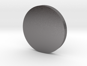 Coin in Polished Nickel Steel