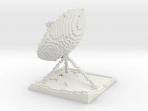 Antenna - all white in White Natural Versatile Plastic