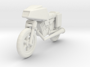 GV12 SF Motorcycle (28mm) in White Strong & Flexible