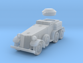 PV39C T4 (M1) Armored Car (1/72) in Smooth Fine Detail Plastic