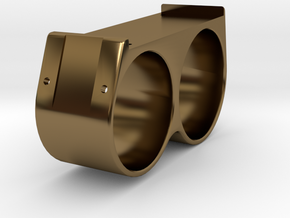 Energy Harvesting Ring- Size 9.5 - 6.5 -Ring Body in Polished Bronze