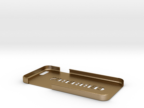Cerberus iPhone 6 Case in Polished Gold Steel