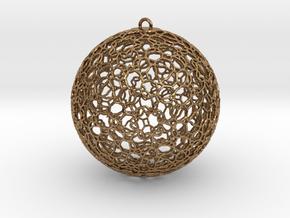 Ornament K0003 in Natural Brass