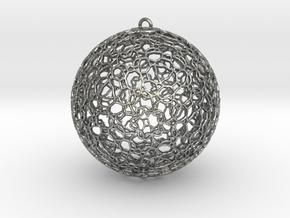 Ornament K0003 in Natural Silver