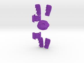 Shredderkit in Purple Processed Versatile Plastic