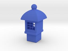 Spirit House - Tardis in Blue Processed Versatile Plastic