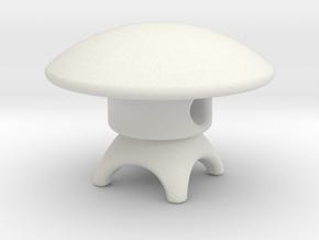 Spirit House - Earth in White Natural Versatile Plastic