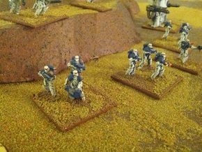 15mm Legionary Crusaders w/ Plasma Rifle (x10) in White Strong & Flexible