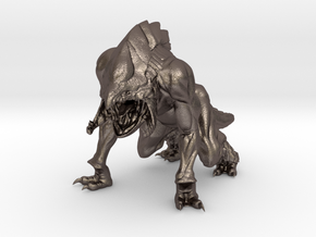 Davi Blight's King of Predators Collectable Figure in Polished Bronzed Silver Steel
