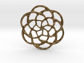 Celtic Pendant in Natural Bronze